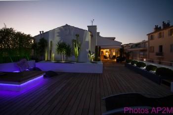 eclairage all es et terrasses eclairage am nagement paysager. Black Bedroom Furniture Sets. Home Design Ideas