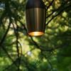 Luminaire design, étanche extérieur, laiton massif vieilli, lampe Led