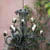 Electrification d'un lustre, led, étanche.